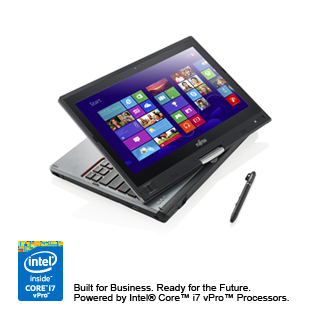 The Fujitsu Tablet Lifebook T725 Is A 12 5 2 In 1 That Meets Expectations Of Professionals Thanks To Its Pen And Touch Input 4g Lte Connectivity