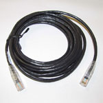 Ethernet CAT6 Cable, 14 ft., Black