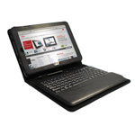 Folio Case with Removable Bluetooth Keyboard * NOT for Q550 WWAN(FPCCC165)
