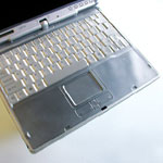 Wireless Keyboard with Touchpad Skin(FPCKS03)