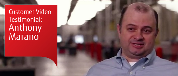 Anthony Marano Customer Video Testimonial